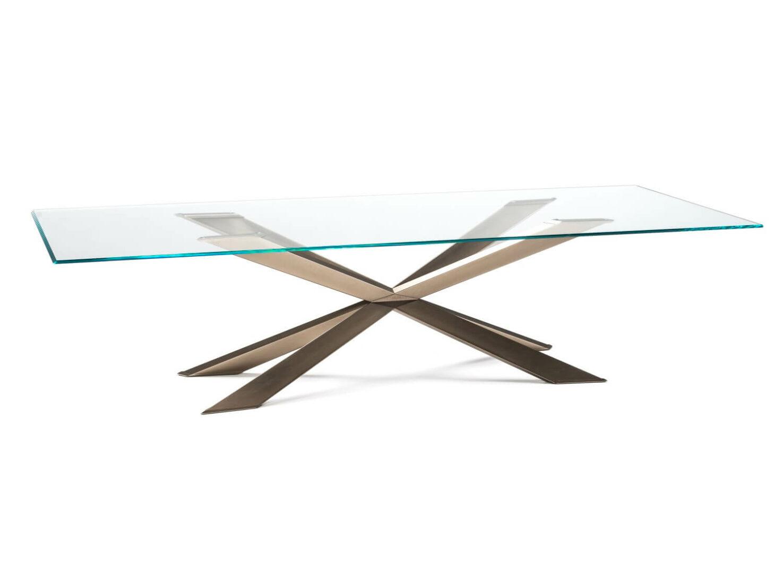Spyder Glass Table